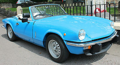 1978 Triumph Spitfire 1500 With Overdrive SUPERB EXAMPLE Classic Spitfire
