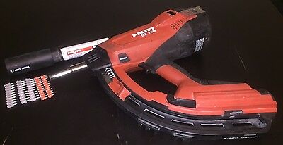 Hilti GX 120 Gas Powered Actuated Nail Gun Fastening Tool - Great Condition