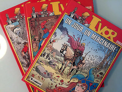 BDs Ivor (Journal Tintin), lot tomes 1, 2 et 3. Bon état, Editions Originales