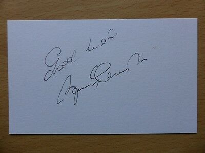 Hand Signed Football Index Cards *****C***** Page 2