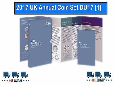 The Royal Mint 2017 United Kingdom Annual Coin Set - DU17