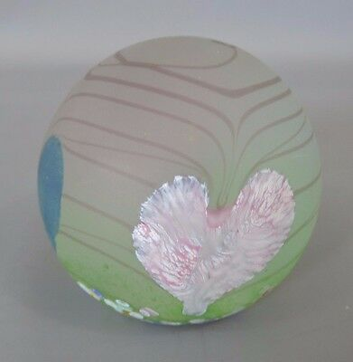 """Rare Caithness Paperweight """"Hearts"""" Limited Edition No. 372/750 Scotland"""