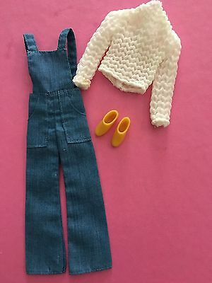 Barbie Vintage Francie Outfit #3281 1972Cool Coveralls, Rare!!