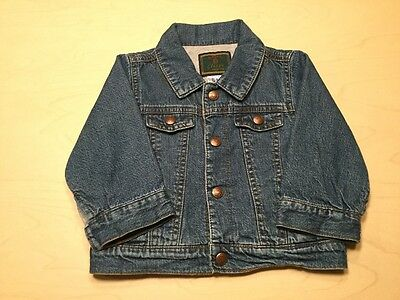 baby Gap Baby Boy or Girl Classic Jean Jacket Size 6-12 Months