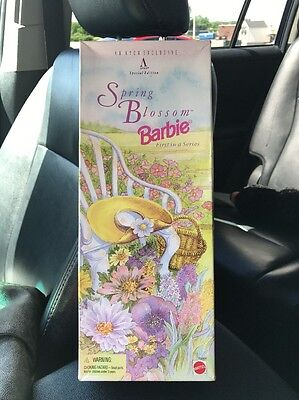 BARBIE Spring Blossom 1995. Rare. Limited Edition. Collectors Item