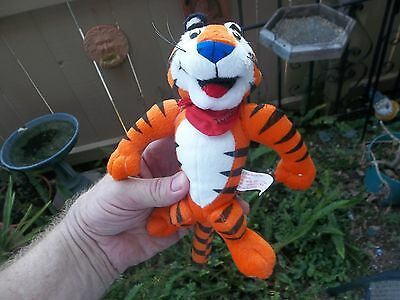 Kellogg's Tony The Tiger Plush Toy Frosted Flakes are Greaaat!