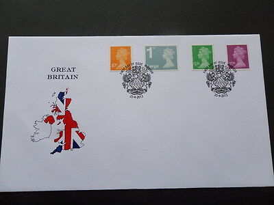 2012 Definitive Issue First Day Issue on Stuart Envelope with Windsor Postmark