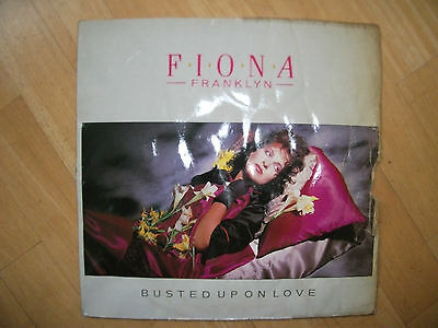 Virgin Nr.601600 - Fiona Franklyn - Busted Up On Love 12""