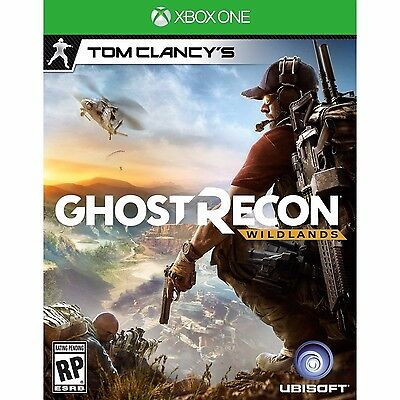 Brand New Sealed xbox one Tom Clancy's ghost recon  Wildlands(Discount offer)