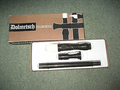 Vintage Dolmetsch Treble recorder