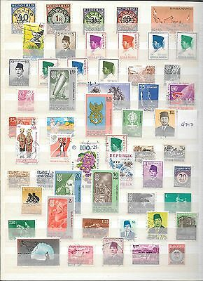 Indonesia Stamps (4717/4631)