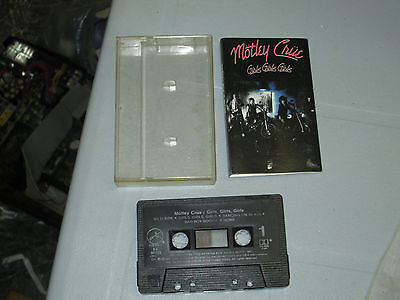 Motley Crue - Girls, Girls, Girls (Cassette, Tape) Working Great Tested 2