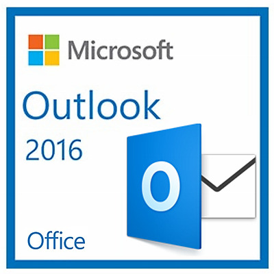 Genuine Product:- Outlook 2016 [32/64-Bit]