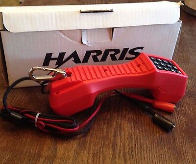 Harris Telephone TS19 Test Set Lineman's Portable Line Tester
