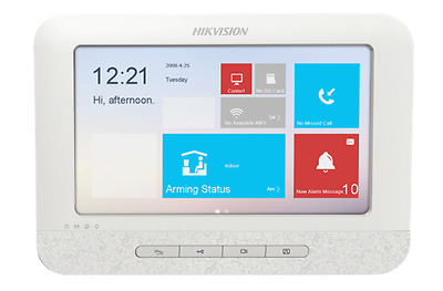 Ip Video Intercom Door Entry Monitor Hikvision Ds-Kh6310-W, Hd Live View