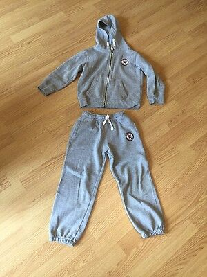 All Star Converse Age 6-7 Track Suit In Grey