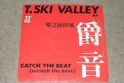 T-Ski Valley – Catch The Beat (Scratch The Beat)      1984  ELECTRO / FUNK!!