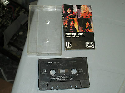 Motley Crue - Shout at the Devil (Cassette, Tape) WORKING GREAT TESTED 4
