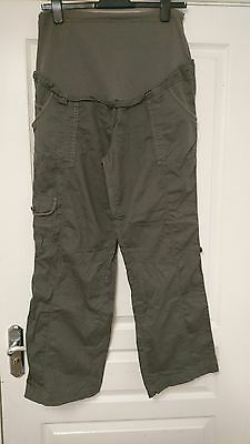 Moda Mothercare maternity over bump combat trousers /shorts size 14