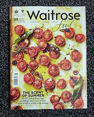 Waitrose Food Magazine - May 2017 - 42 Recipes - The Secret of Summer herbs puds