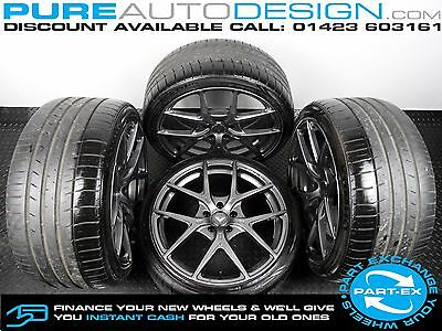 """Set of Four 19"""" Vorsteiner Alloy wheels for Mercedes AMG C63 5 x 112 With Tyres"""