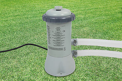 Intex Swimming Pool Filter Pump - 530 Gallons/HR - Suitable for 12ft Pools