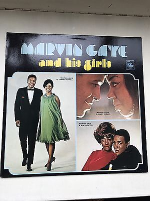 MARVIN GAYE and his girls - Vinyl Album In Pristine Condition
