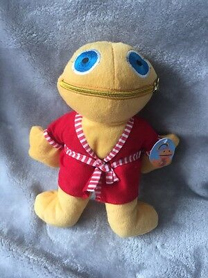 TV Rainbow Zippy soft Plush toy 10 Inches Dressing Gown Robe Bedtime With Tags