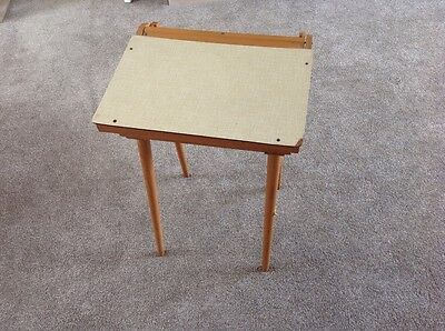 Child's vintage/ retro school desk with lift-up lid with inner compartments