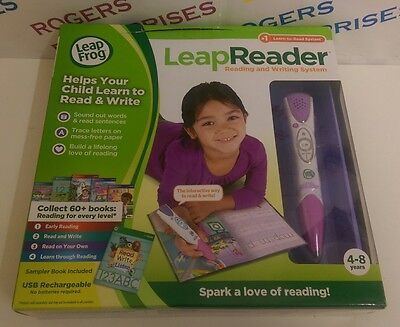 Pink Leap Frog Leap Reader Learning Reading & Writing System NEW & Boxed