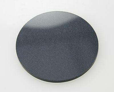 METALLIC BLACK CIRCLE ACRYLIC PLASTIC PERSPEX DISCS CIRCLES 3mm