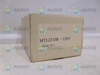 Measurement Technology Mtl2210B Switch Operated Relay *new In Box*