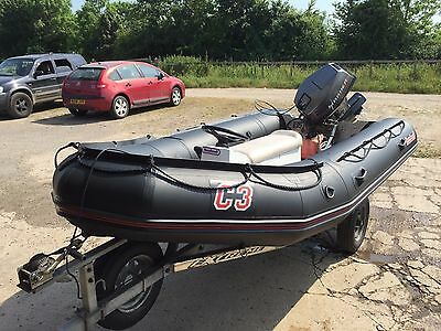 Bombard C3 inflatable rib with 40 hp outboard