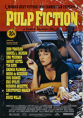 Pulp Fiction (1994) - A2 POSTER **BUY ANY 2 AND GET 1 FREE OFFER**