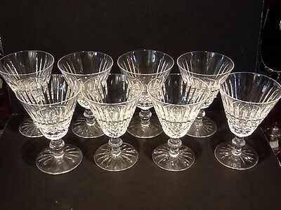 """Waterford Tramore Water Goblets 5 1/2"""" - Set Of Eight - Stunning!"""