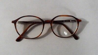 Vintage Made In Italy Chesterfield Tortoise Eyeglass Frame  610 140