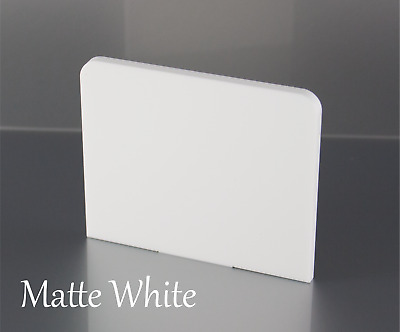 MATTE WHITE ACRYLIC PLASTIC SHEETS IN 3mm