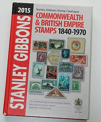 STANLEY GIBBONS COMMONWEALTH & BRITISH EMPIRE 2015 Stamp Catalogue