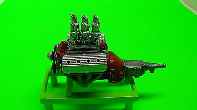 Outlaw Speed Shop Resin 1/25 Scale Engine Hot Rod Hemi 392 4 Spd And 6 Carbs