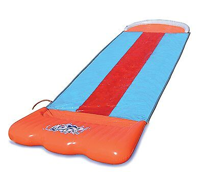 Bestway H2O Go Triple Slider Kids Outdoor 3-Person Water Slide | 52200E