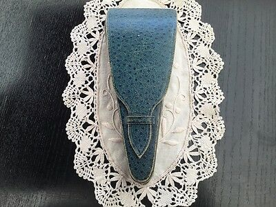 Vintage Shagreen Scissors Case