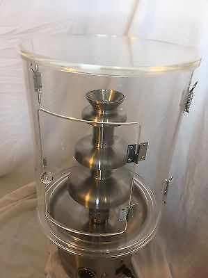 "Commercial Sephra Cortex CF23 23"" Chocolate Fountain Wind Guard"