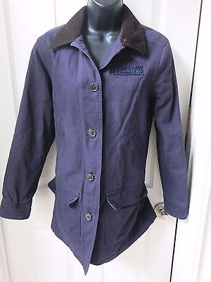 Lucasfilm Film Crew Blue Jacket - Land's End Brand - Women's Size XS 2 4