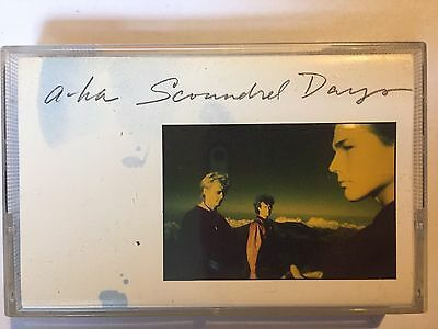 A-Ha - Scoundrel Days  - Cassette Tape In Good Condition - Charity Sale