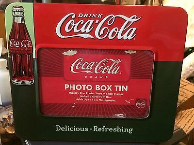 Coca Cola Photo Box Tin
