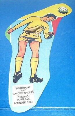 Southport  F.c.  Stunning Action Figure In Football Club Colours Series 1970