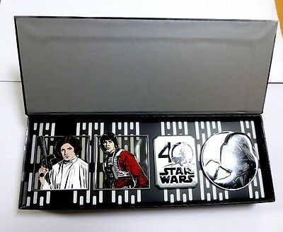 Disney Store Japan Star Wars - A New Hope 40th Anniversary Pin Set  LE 1250