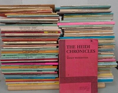 Lot 100 Samuel French Dramatists Play Scripts Acting Editions Theatre Drama More