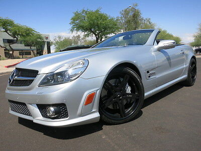 """2011 Mercedes-Benz SL-Class SL63 AMG Convertible P1 Pack Navi Heated/Cooled Seats Keyless GO Pano Roof 20"""" Whls 2009 2012 sl 63"""