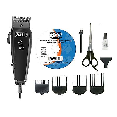 Professional  Wahl Multi Cut Pet Dog Mains Operated Animal Clipper Set With DVD